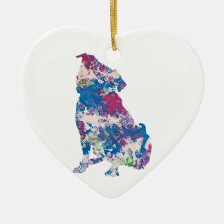 Gerade für Gina-Kunstwerk durch Baxter, Verzierung Keramik Ornament