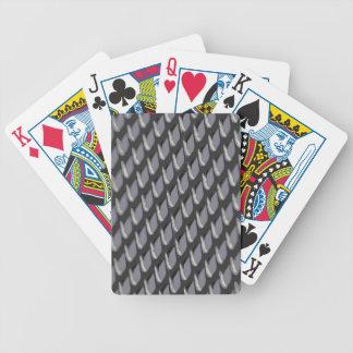Gerade Gitter-vektorheide Bicycle Spielkarten