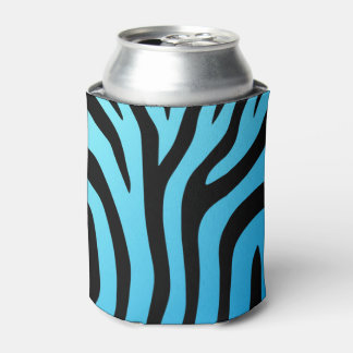 Gerade kann cooler Zebra-Streifen cooler Dosenkühler