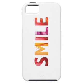 Gerade Lächeln-glückliches Zitat 04 iPhone 5 Hülle