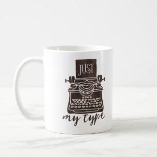 Gerade meine Art Verfasser-Tassen-Kaffeleser Kaffeetasse