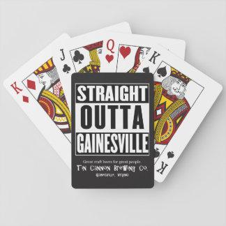 Gerade Outta Gainesville Spielkarten