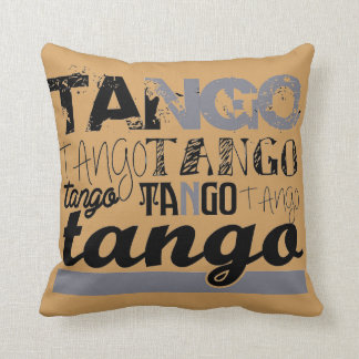 Gerade Tango Zierkissen