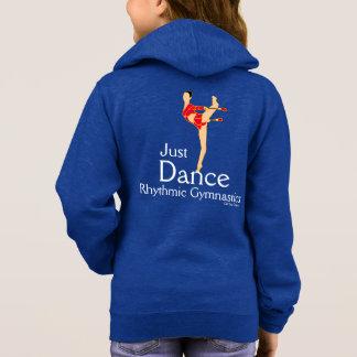 Gerade Tanz-Mädchen-rhythmische Hoodie