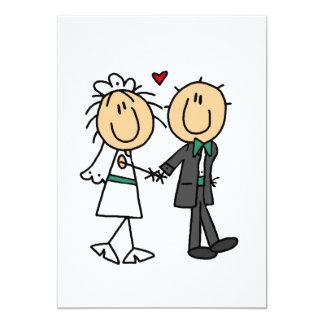 Gerade verheiratete Einladungen
