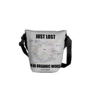 Gerade verloren in einer Bio Welt (Krebs Zyklus) Kurier Tasche