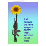 Gerade weil wir Waffen KARTE haben