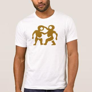 gerade weired bizzare lustiger T - Shirtentwurf T-Shirt