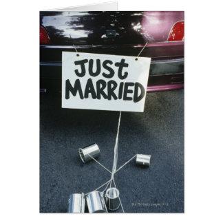 Gerade ziehen sich verheiratetes Zeichen an vom Karte