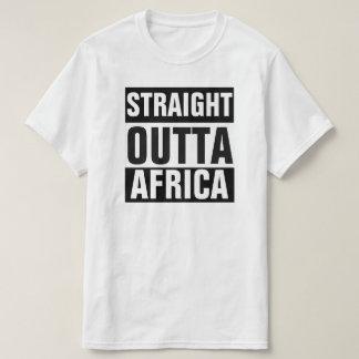 GERADER OUTTA AFRIKA T - SHIRT