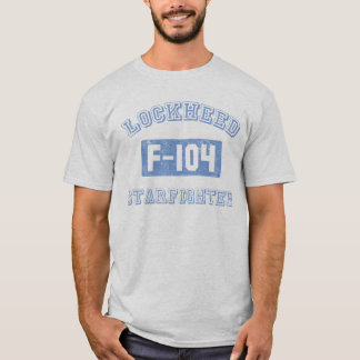 Geraderes Kampfflugzeugt-stück T-Shirt