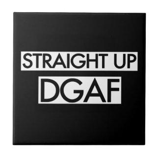 Gerades hohes DGAF Keramikfliese