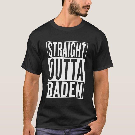 gerades outta Baden T-Shirt