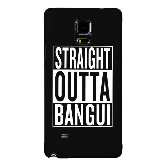 gerades outta Bangui