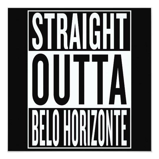 gerades outta Belo Horizonte Karte