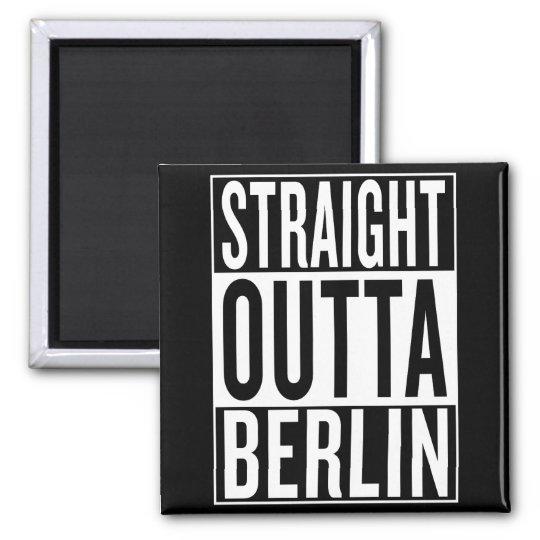 gerades outta Berlin Quadratischer Magnet