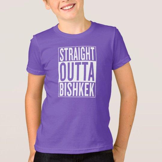 gerades outta Bischkek T-Shirt