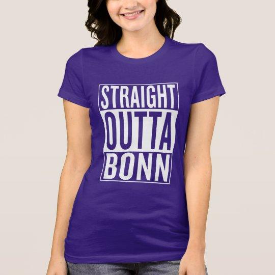 gerades outta Bonn T-Shirt