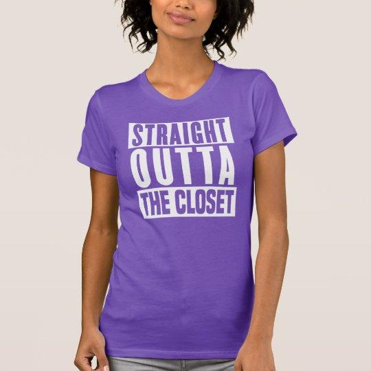Gerades Outta der Wandschrank T-Shirt