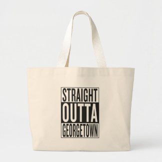 gerades outta Georgetown Jumbo Stoffbeutel