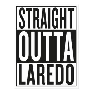 gerades outta Laredo Postkarte