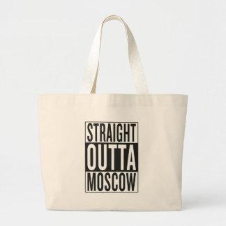 gerades outta Moskau Jumbo Stoffbeutel