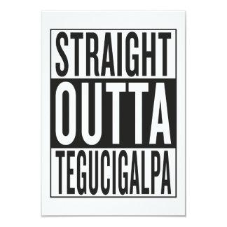 gerades outta Tegucigalpa 8,9 X 12,7 Cm Einladungskarte