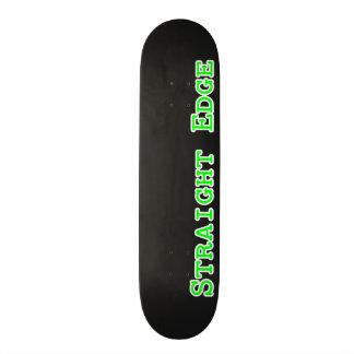 Gerades Rand-Skateboard 19,7 Cm Skateboard Deck
