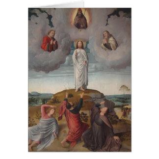 Gerard David der Transfiguration von Christus Karte