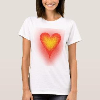 Geräusch-Herz T-Shirt