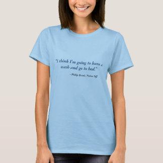 Geräusche weg vom T - Shirt