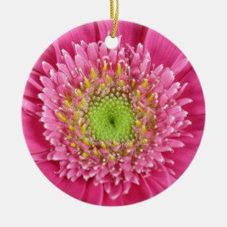 Gerbera Rundes Keramik Ornament