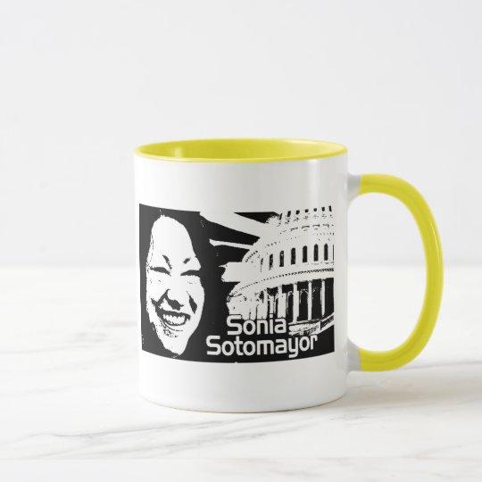 Gerechtigkeit Sonia Sotomayor Tasse
