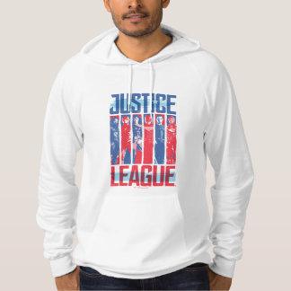 Gerechtigkeits-Liga | blaue u. rote Hoodie