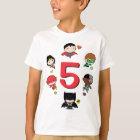 Gerechtigkeits-Liga DC-Comic-| - Chibi Geburtstag T-Shirt