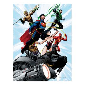 Gerechtigkeits-Liga - Gruppe 1 Postkarten
