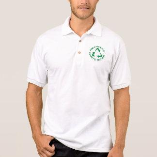 Gerecycelte Teile nach innen Polo Shirt