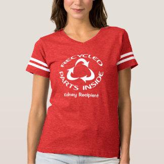 Gerecyceltes Teil-Innere - mit kundengebundenem T-shirt