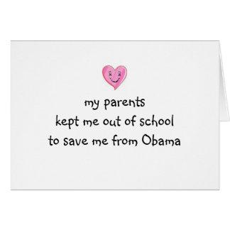 Gerettet von Obama! Karte