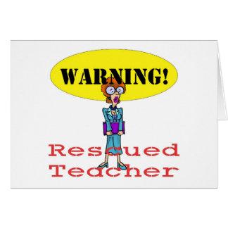 gerettetes teacherf karte