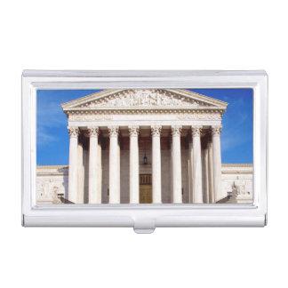 Gericht-Gebäude US, Washington DC, USA Visitenkarten Dose