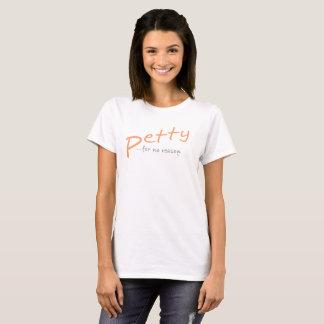 Geringfügiger Slant T-Shirt Pfirsich