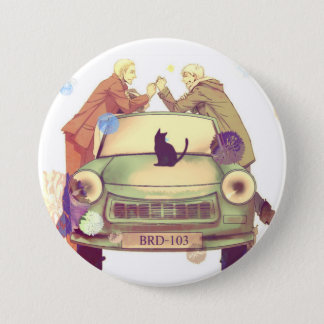 Germancest - Hetalia Runder Button 7,6 Cm