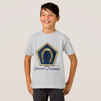 Germanna Nachkomme scherzt T - Shirt