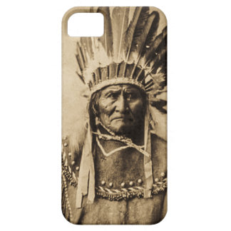Geronimo in HauptkleiderVintagem PorträtSepia iPhone 5 Case