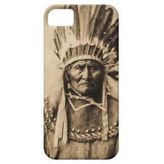 Geronimo in HauptkleiderVintagem PorträtSepia iPhone 5 Case