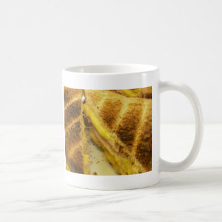 Gerösteter Schinken u. Käse Kaffeetasse