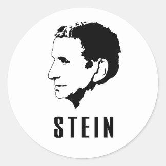 Gertrude Stein Runder Aufkleber