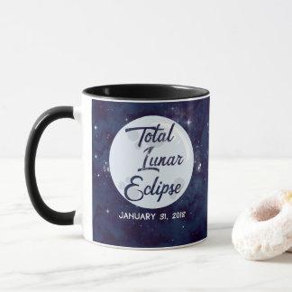 Gesamtmondeklipse-Kaffee-Tasse 2018 Tasse