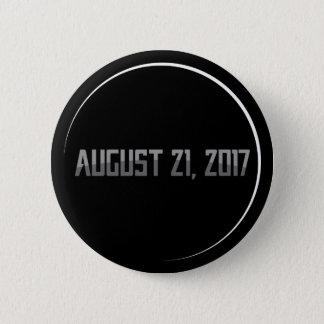Gesamtrunder Knopf der Sonnenfinsternis-2017 Runder Button 5,1 Cm